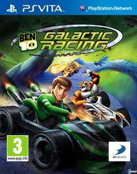 Portada oficial de Ben 10 Galactic Racing para PSVITA