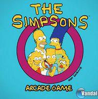 Portada oficial de The Simpsons Arcade PSN para PS3
