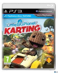 Portada oficial de LittleBigPlanet Karting para PS3