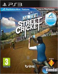Portada oficial de Move Street Cricket PSN para PS3