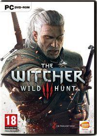 Portada oficial de The Witcher 3: Wild Hunt para PC