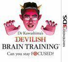 Portada oficial de Brain Training Infernal del Dr. Kawashima: ¿Eres capaz de mantener la concentración? para Nintendo 3DS