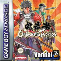 Portada oficial de Onimusha Tactics para Game Boy Advance