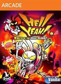 Portada oficial de Hell Yeah! La furia del conejo muerto XBLA para Xbox 360