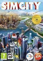 Portada oficial de SimCity para PC