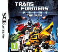 Portada oficial de Transformers Prime para NDS