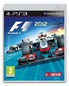 Portada oficial de F1 2012 para PS3