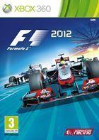 Portada oficial de F1 2012 para Xbox 360