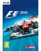 Portada oficial de F1 2012 para PC