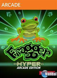Portada oficial de Frogger: Hyper Arcade Edition XBLA para Xbox 360