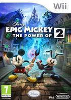 Portada oficial de Epic Mickey 2: El retorno de dos héroes para Wii