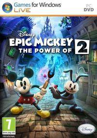 Portada oficial de Epic Mickey 2: El retorno de dos héroes para PC