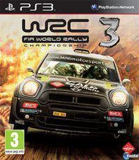 Portada oficial de WRC 3 para PS3