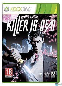 Portada oficial de Killer is Dead para Xbox 360