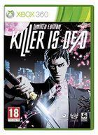Portada oficial de Killer is Dead para Xbox 360