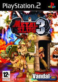 Portada oficial de Metal Slug 3 para PS2