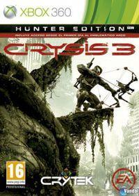 Portada oficial de Crysis 3 para Xbox 360
