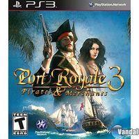 Portada oficial de Port Royale 3: Pirates & Merchants para PS3