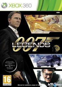 Portada oficial de 007 Legends para Xbox 360