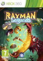 Portada oficial de Rayman Legends para Xbox 360
