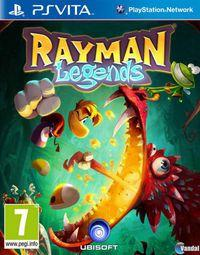 Portada oficial de Rayman Legends para PSVITA