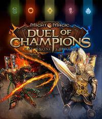 Portada oficial de Might & Magic: Duel of Champions para PC