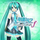 Portada oficial de Hatsune Miku Project Diva F PSN para PSVITA