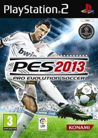 Portada oficial de Pro Evolution Soccer 2013 para PS2