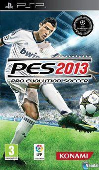 Portada oficial de Pro Evolution Soccer 2013 para PSP