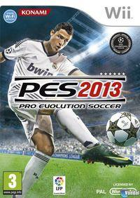 Portada oficial de Pro Evolution Soccer 2013 para Wii