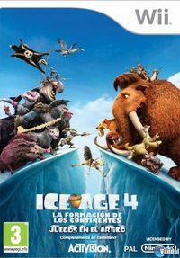 Portada oficial de Ice Age 4: La formación de los continentes – Juegos en el Ártico para Wii