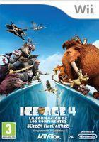 Portada oficial de Ice Age 4: La formaci�n de los continentes � Juegos en el �rtico para Wii