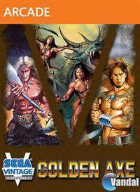 Portada oficial de Sega Vintage Collection: Golden Axe XBLA para Xbox 360