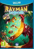 Portada oficial de Rayman Legends para Wii U