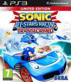 Portada oficial de Sonic & All-Stars Racing Transformed para PS3