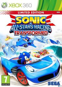 Portada oficial de Sonic & All-Stars Racing Transformed para Xbox 360
