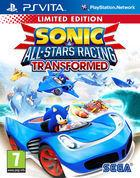 Portada oficial de Sonic & All-Stars Racing Transformed para PSVITA