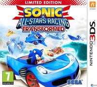 Portada oficial de Sonic & All-Stars Racing Transformed para Nintendo 3DS