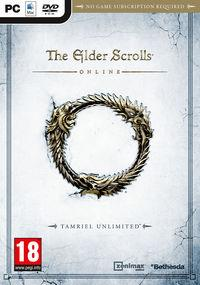 Portada oficial de The Elder Scrolls Online para PC