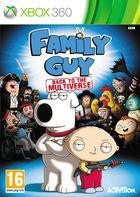 Portada oficial de Family Guy: Back to the Multiverse para Xbox 360