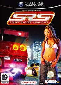Portada oficial de Street Racing Syndicate para GameCube