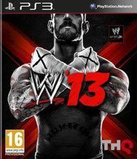 Portada oficial de WWE 13 para PS3