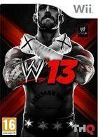 Portada oficial de WWE 13 para Wii