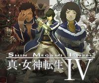 Portada oficial de Shin Megami Tensei IV eShop para Nintendo 3DS