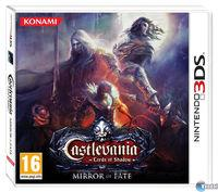 Portada oficial de Castlevania: Lords of Shadow - Mirror of Fate para Nintendo 3DS