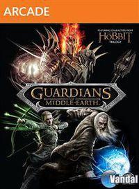 Portada oficial de Guardianes de la Tierra Media XBLA para Xbox 360