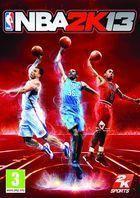 Portada oficial de NBA 2K13 para Xbox 360