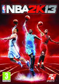 Portada oficial de NBA 2K13 para Wii