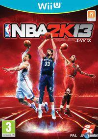 Portada oficial de NBA 2K13 para Wii U
