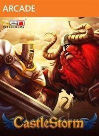 Portada oficial de CastleStorm XBLA para Xbox 360